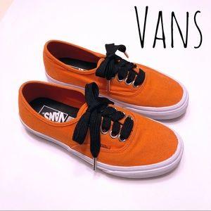 Vans Men's Size 7.5 Women's Size 9 Bright orange